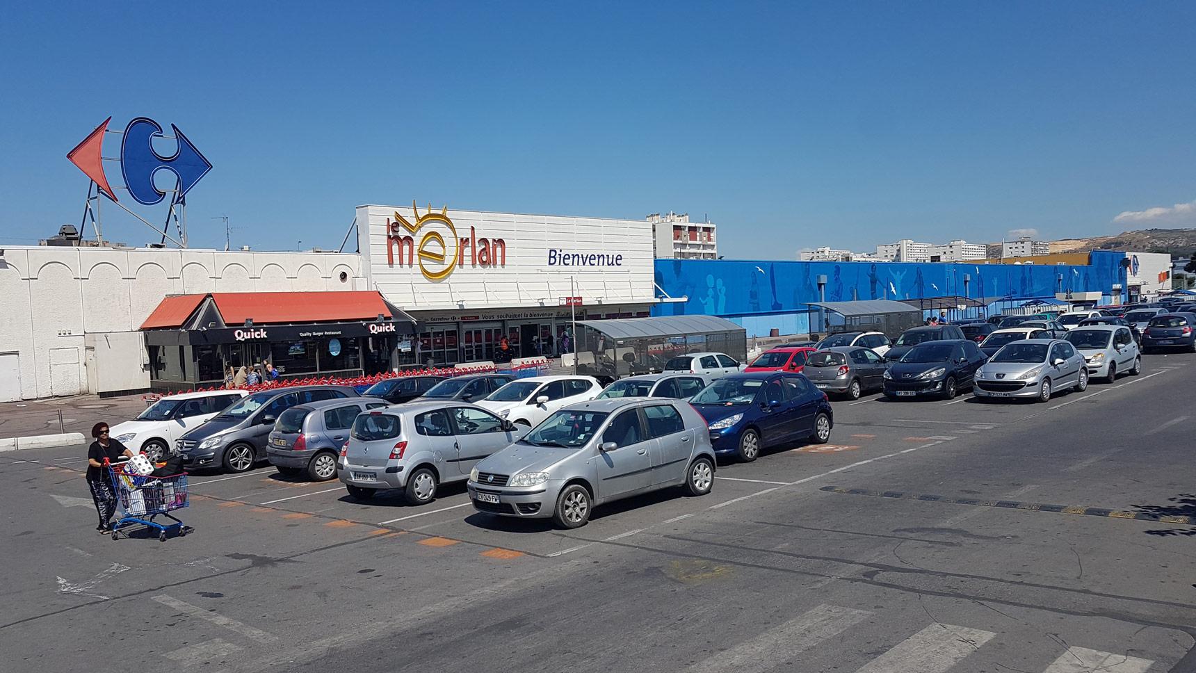 Carrefour Marseille Le Merlan