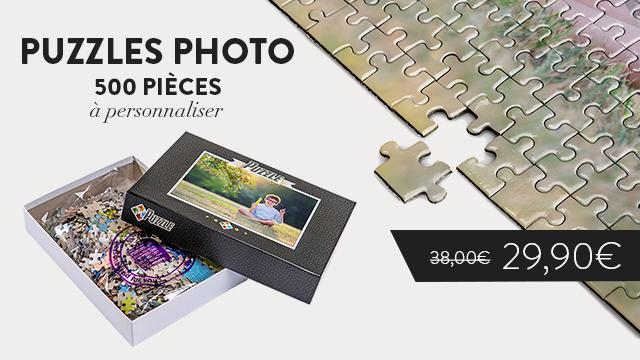 Puzzles photo 500 pièces à personnaliser