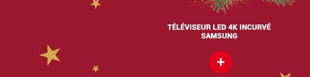 Téléviseur LED 4K incurvé SAMSUNG