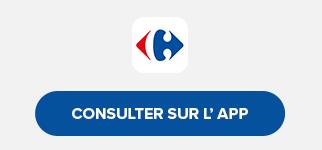 Retrouvez tous vos nouveaux catalogues sur l'application Carrefour en avant première