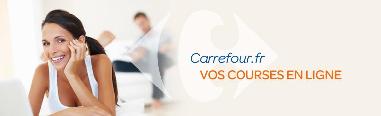 Vos courses en ligne que Carrefour.fr
