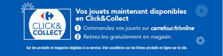 Vos Jouets maintenant disponibles en Click&Collect !