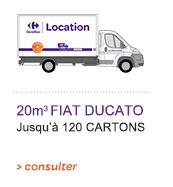 20m3 FIAT Ducato